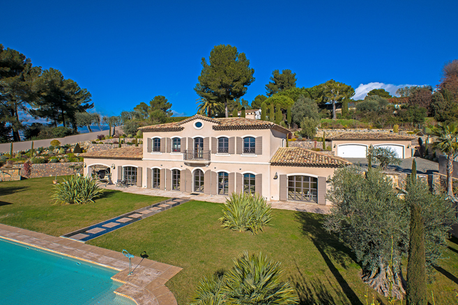 Panoramic villa mougins